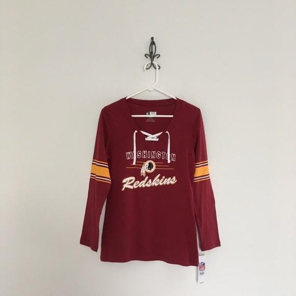 hot sale online 9146a 4b876 NFL Washington Redskins Long Sleeve T Shirt NWT